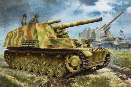German Sd.Kfz.165 Hummel – Late Production
