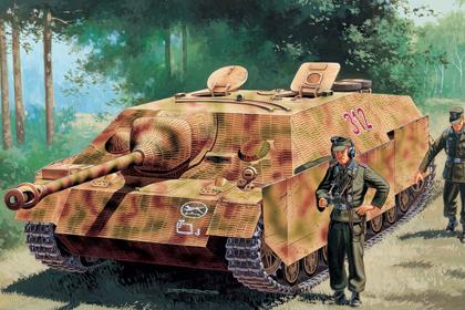 German JagdPanzer IV, Ausf. F