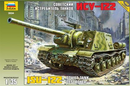 Russian Tank Destroyer ISU-122