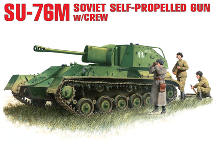 Russian Self Propelled Gun, SU-76M