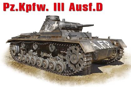 German Pz.Kpfw.III Ausf. D