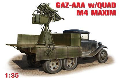 Russian GAZ-AAA w/Quad M4 Maxim