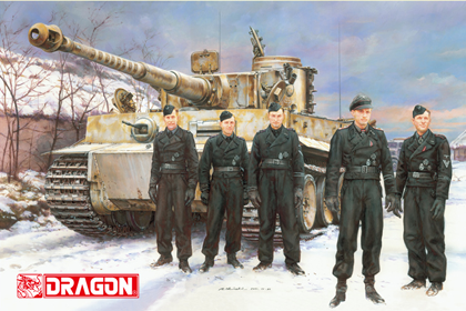 German Wittmann's Command Tiger I, Pz.Kpfw.VI Ausf.E