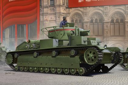 Russian T-28 Medium Tank - Early version