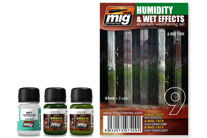 Humidity and wet effects set