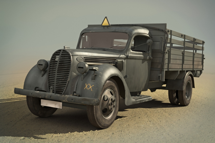 German Truck, Ford G917T - 1939 production