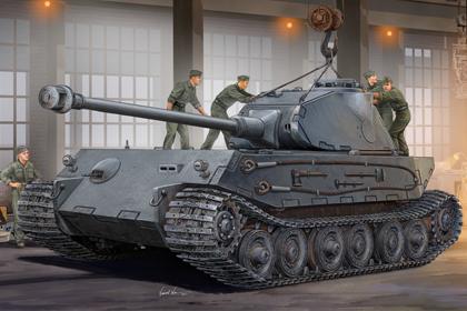 German VK4502 (P) Hintern