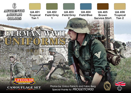 German WWII Uniforms set 1