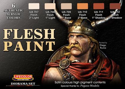 Flesh Paint set