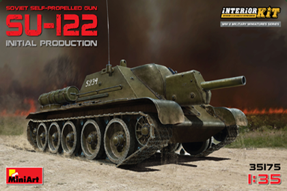 Russian SU-122 Initial Production, Interior Kit