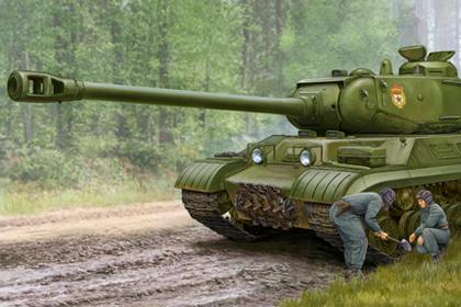 Russian JS-2M Heavy Tank (Early production)