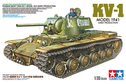Russian Heavy Tank KV-1 Model 1941 (Early production)
